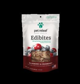 Pet Releaf Pet Releaf Soft Chew Edibites Blueberry & Cranberry 7.5 oz