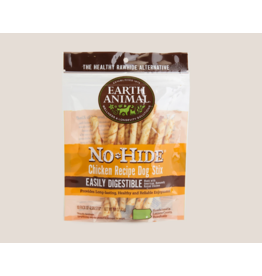 Earth Animal Earth Animal No Hide Stix Chicken 4.5 in 10 pk (1.6 oz)