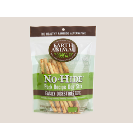 Earth Animal Earth Animal No Hide Stix Pork 4.5 in 10 pk (1.6 oz)