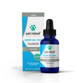 Pet Releaf Pet Releaf Full Spectrum Hemp Oil 500 mg (1 oz)