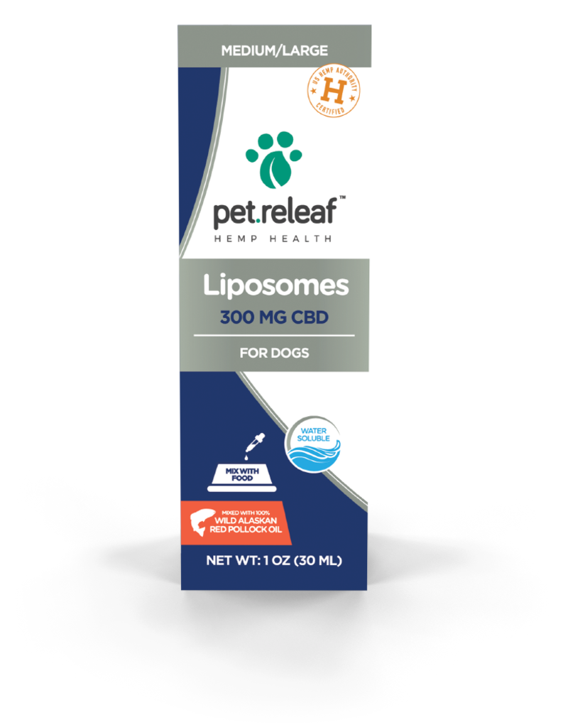Pet Releaf Pet Releaf Liposome Hemp Oil 300 mg (1 oz)