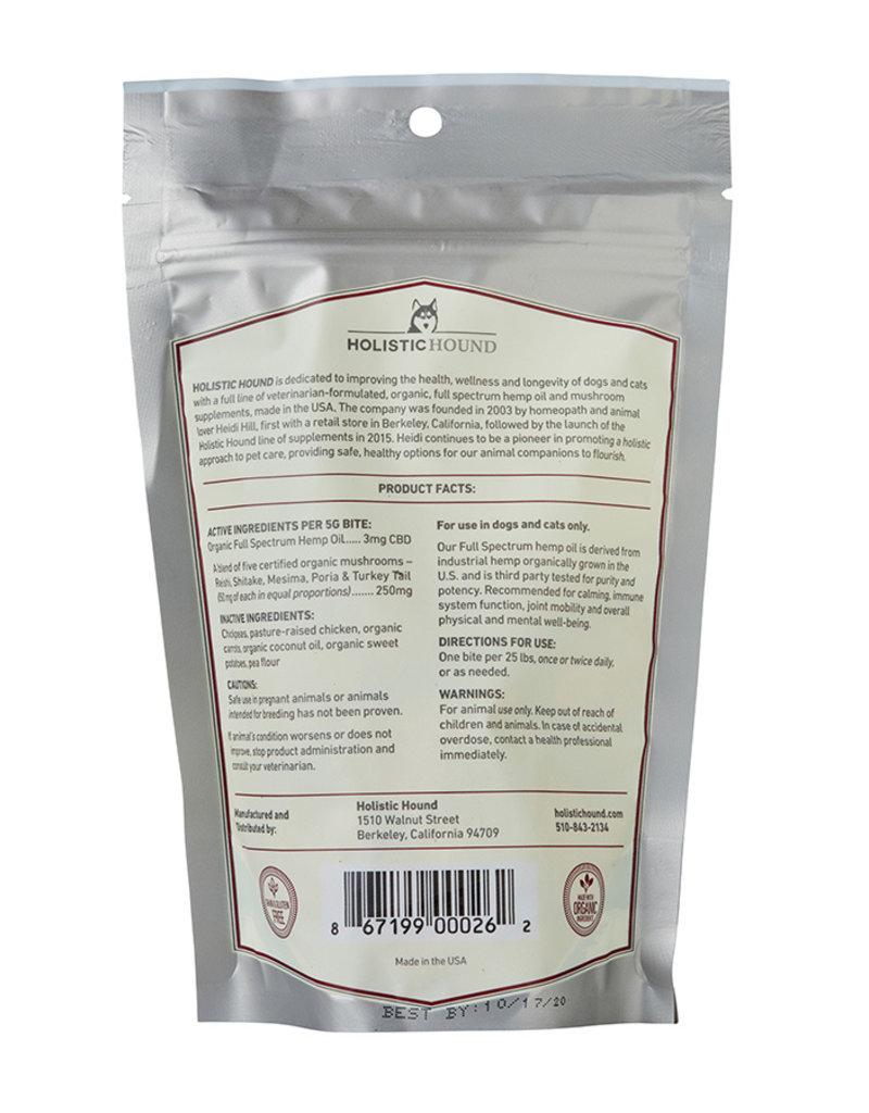 Holistic Hound Holistic Hound Full Spectrum Hemp Oil Treats Chicken 3 mg (7 oz)
