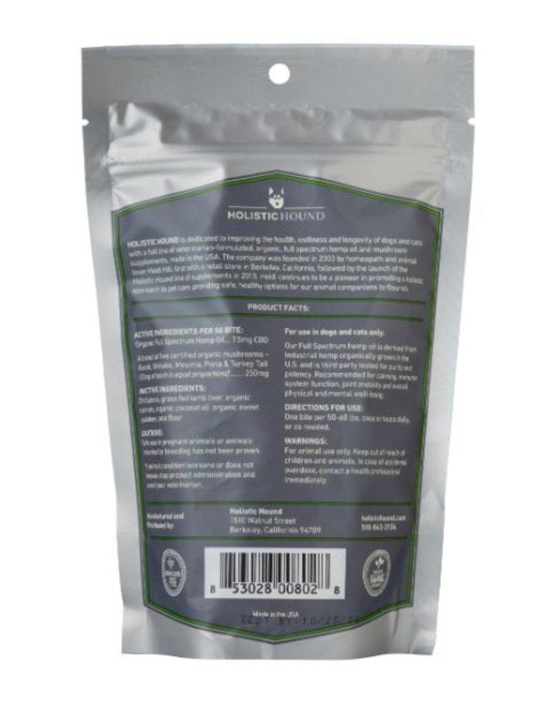 Holistic Hound Holistic Hound Full Spectrum Hemp Oil Treats Lamb Liver 7.5 mg (7 oz)