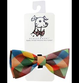 Huxley & Kent Huxley & Kent Bow Tie Fall Check Extra Large (XL)