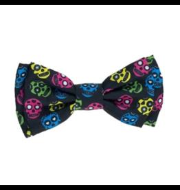 Huxley & Kent Huxley & Kent Halloween Bow Tie | Sugar Skulls Extra Large (XL)
