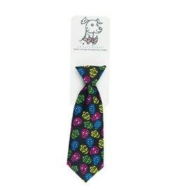 Huxley & Kent Huxley & Kent Halloween Long Tie | Sugar Skulls Medium