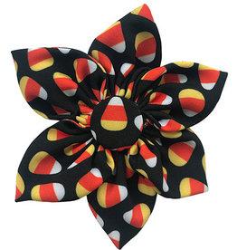Huxley & Kent Huxley & Kent Halloween Pinwheel | Candy Corn Small