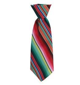 Huxley & Kent Huxley & Kent Long Tie | Serape Stripe Small