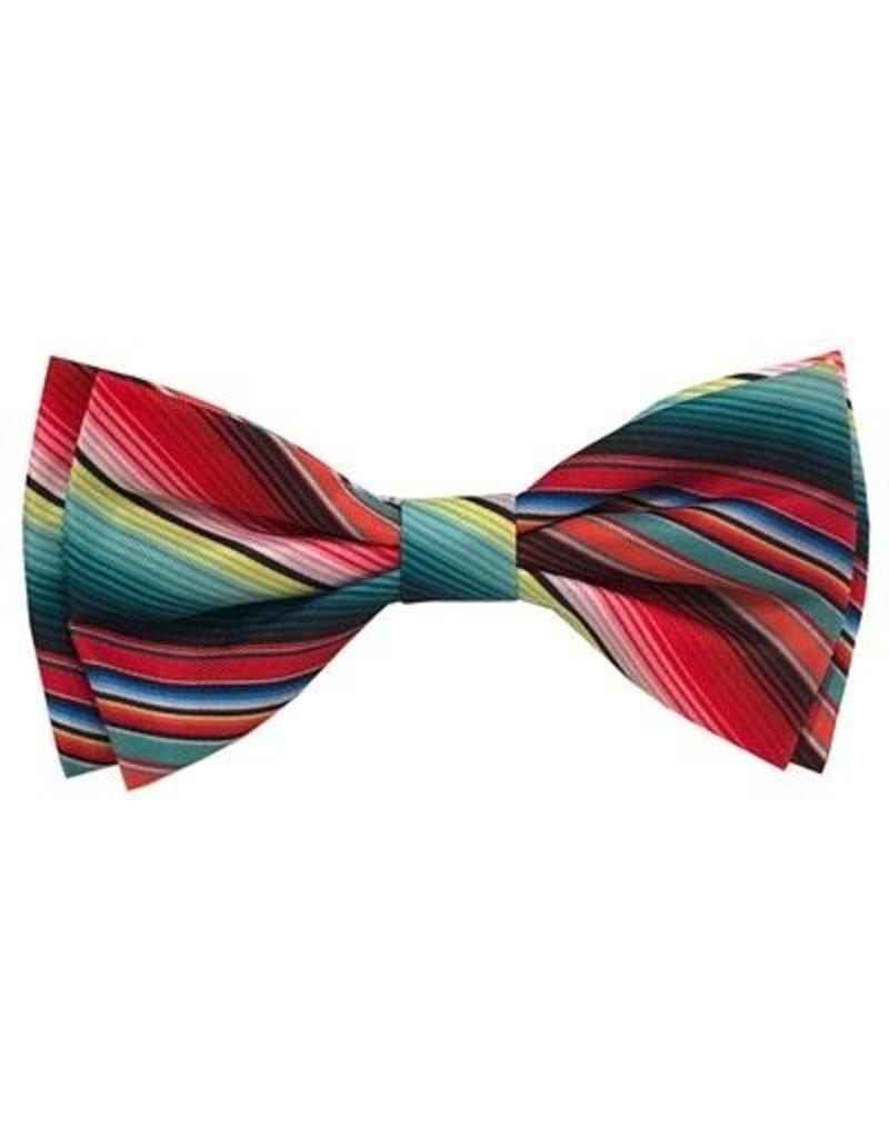 Huxley & Kent Huxley & Kent Bow Tie Serape Stripe Small