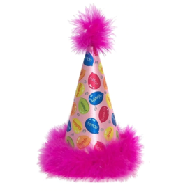 Huxley & Kent Huxley & Kent Party Hat Party Time Pink Large
