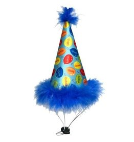 Huxley & Kent Huxley & Kent Party Hat Party Time Blue Large