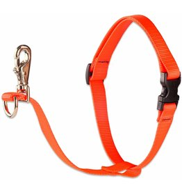 "Lupine Basics No-Pull Harness 3/4"" Blaze Orange 16""-26"""
