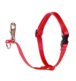"Lupine Basics No-Pull Harness 1"" Red 26""-38"""