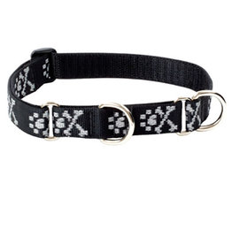 "Lupine Lupine Originals 3/4"" Martingale Dog Collar | Bling Bonz 10""-14"""
