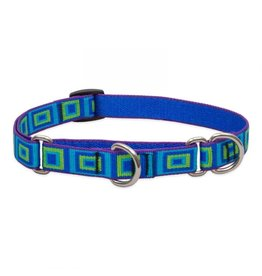 "Lupine Originals 3/4"" Martingale Dog Collar   Sea Glass 10""-14"""