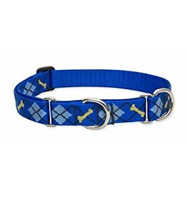 "Lupine Originals 3/4"" Martingale Dog Collar   Dapper Dog 14""-20"""