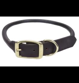 """Coastal Coastal Pet Collar 5/8"""" Leather Brass 14"""""""