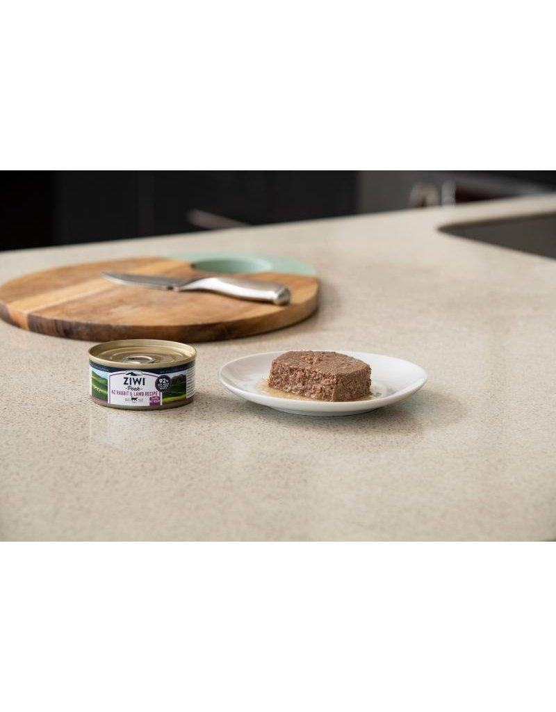 ZiwiPeak Canned Cat Food Rabbit & Lamb 3 oz single - The ...