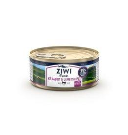 Ziwipeak ZiwiPeak Canned Cat Food Rabbit & Lamb 3 oz CASE
