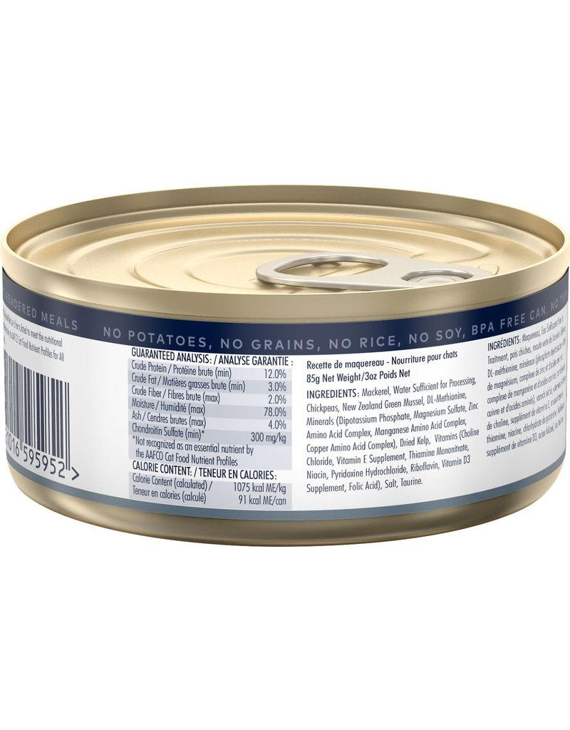 ZiwiPeak Canned Cat Food Mackerel 3 oz CASE - The Pet ...