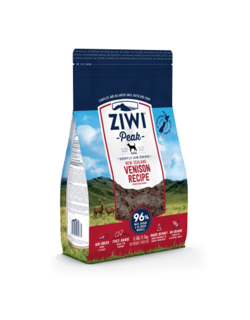 Ziwipeak ZiwiPeak Air-Dried Dog Food Venison 2.2 lb
