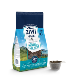 Ziwipeak ZiwiPeak Air-Dried Dog Food Mackerel & Lamb 1 lb
