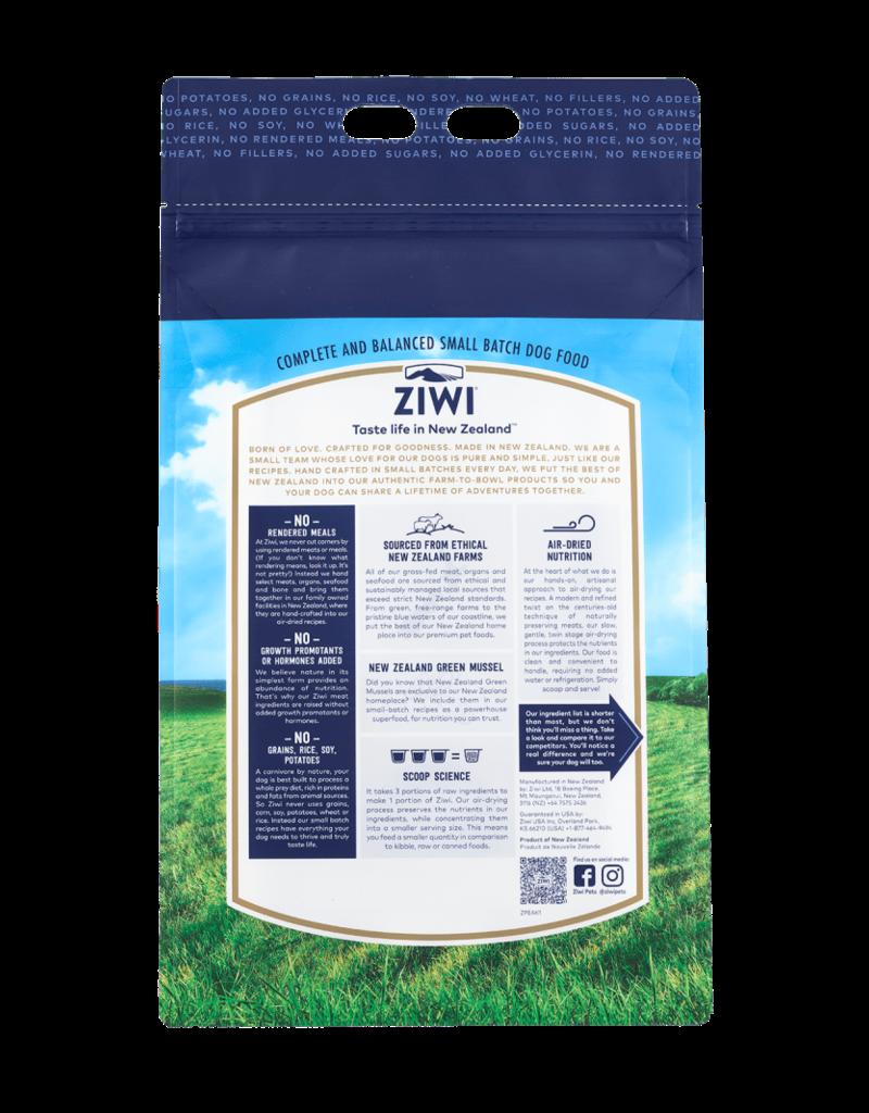 Ziwipeak ZiwiPeak Air-Dried Dog Food Beef 1 lb