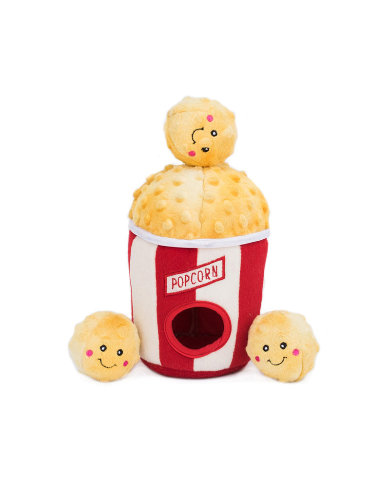 Zippy Paws Burrow Plush Toy | Popcorn Bucket