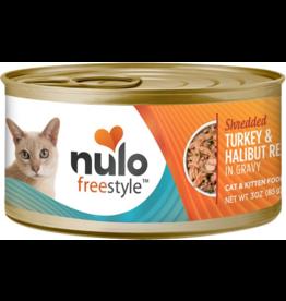 Nulo Nulo FreeStyle Canned Cat Food | Shredded Turkey & Halibut 3 oz CASE