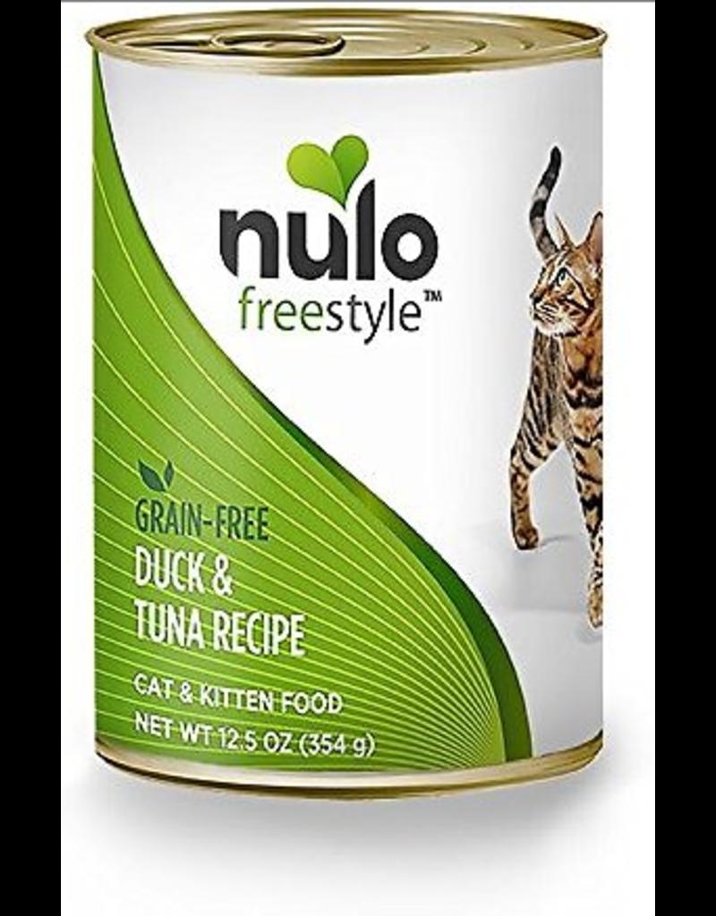 Nulo Nulo FreeStyle Canned Cat Food Duck & Tuna 12.5 oz single