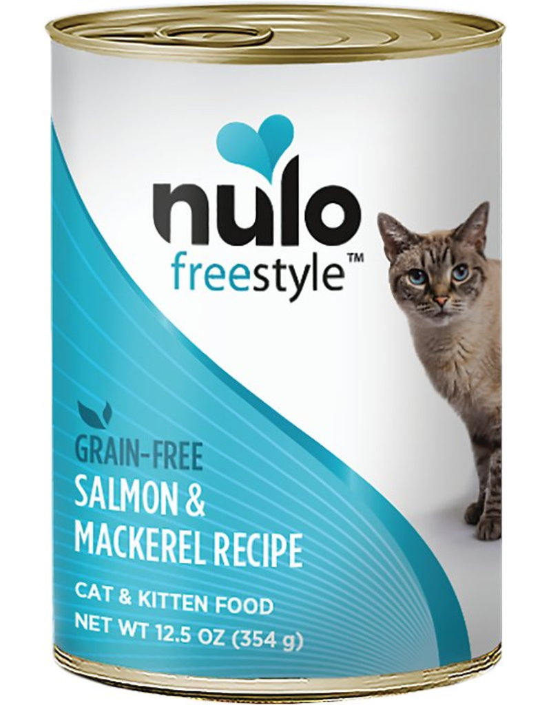 Nulo Nulo FreeStyle Canned Cat Food Salmon & Mackerel 12.5 oz single
