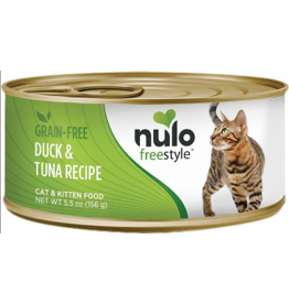 Nulo Nulo FreeStyle Canned Cat Food | Duck & Tuna 5.5 oz CASE