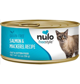 Nulo Nulo FreeStyle Canned Cat Food Salmon & Mackerel 5.5 oz single