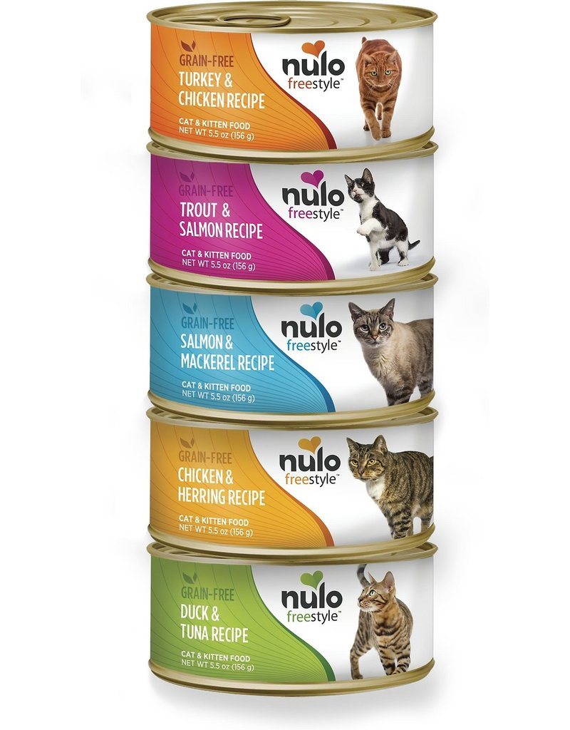 Nulo Nulo FreeStyle Canned Cat Food Salmon & Mackerel 5.5 oz single