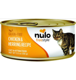 Nulo Nulo FreeStyle Canned Cat Food Chicken & Herring 5.5 oz single