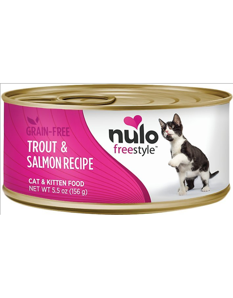 Nulo Nulo FreeStyle Canned Cat Food Trout & Salmon 5.5 oz single
