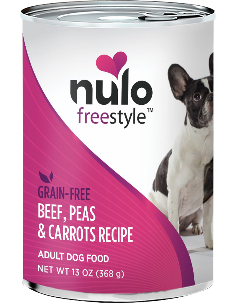Nulo Nulo Freestyle GF Canned Dog Food CASE Beef & Vegetables 13 oz