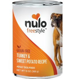 Nulo Nulo Freestyle GF Canned Dog Food CASE Turkey & Sweet Potato 13 oz