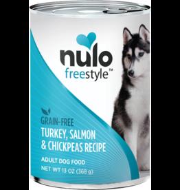 Nulo Nulo Freestyle Canned Dog Food   Turkey, Salmon & Chickpeas 13 oz