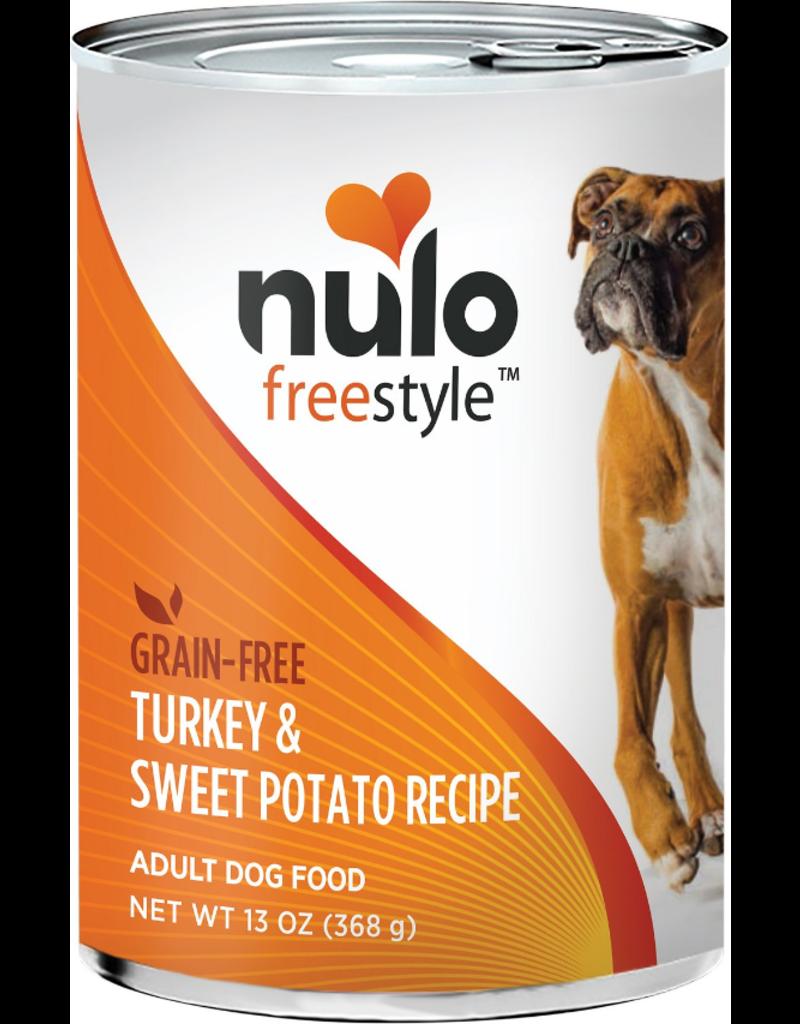 Nulo Nulo Freestyle GF Canned Dog Food Turkey & Sweet Potato 13 oz single