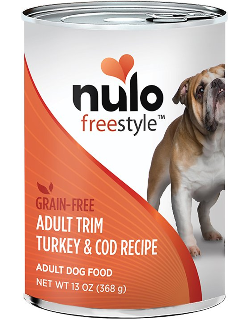 Nulo Nulo Freestyle GF Canned Dog Food Turkey & Cod Adult Trim 13 oz single