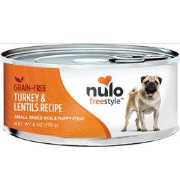 Nulo Nulo Freestyle GF Canned Dog Food Turkey & Lentil Small Breed 6 oz single
