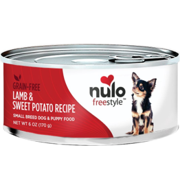 Nulo Nulo Freestyle GF Canned Dog Food Lamb & Sweet Potato Small Breed 6 oz single