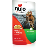 Nulo Nulo Freestyle Cat Pouches Chicken & Mackerel in Broth 2.8 oz single