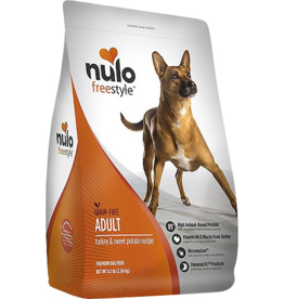 Nulo Nulo Freestyle Dog Kibble Adult Turkey & Sweet Potato 24 lbs