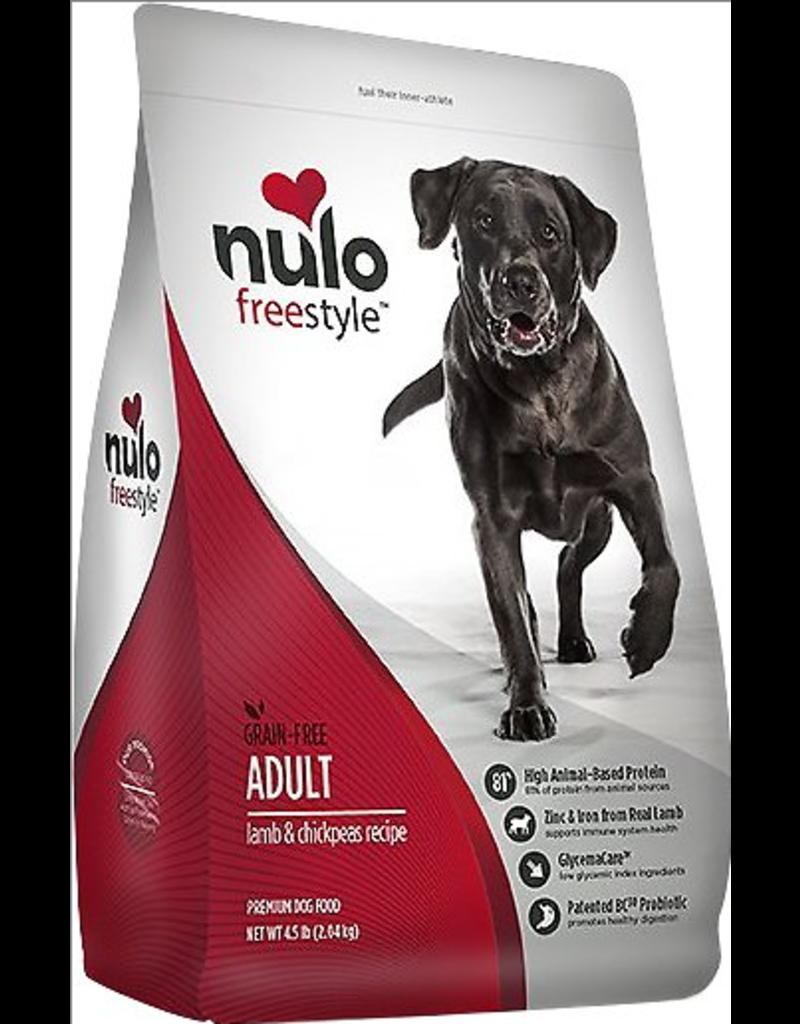 Nulo Nulo Freestyle Dog Kibble Adult Lamb & Chickpeas 4.5 lbs