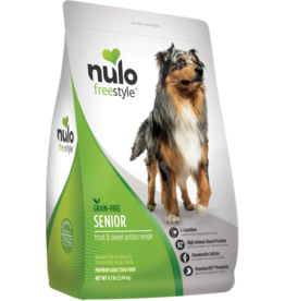 Nulo Nulo Freestyle Dog Kibble Senior Trout & Sweet Potato 24 lbs