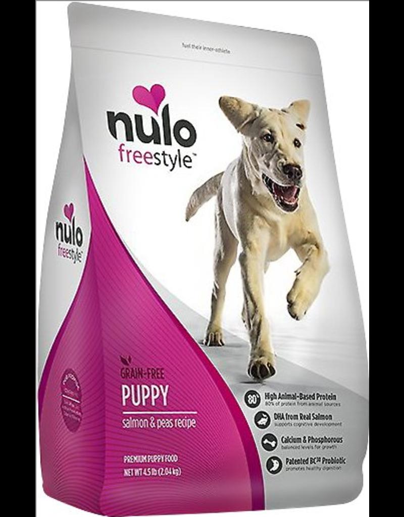 Nulo Nulo Freestyle Dog Kibble Puppy Salmon & Peas 11 lbs