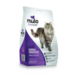 Nulo Nulo Freestyle Cat Kibble Hairball Management Turkey & Cod 5 lbs
