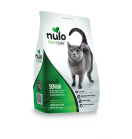 Nulo Nulo Freestyle Cat Kibble Senior Pollock, Duck, & Sweet Potato 5 lbs